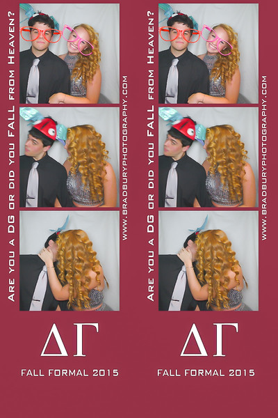 DG Fall Formal 2015 - Photo Booth